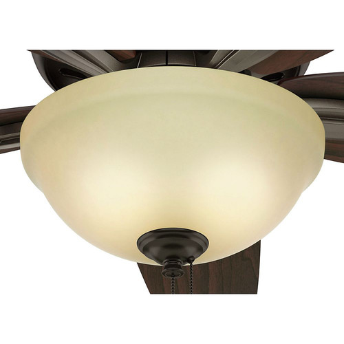 Hunter Capshaw 60 Premier Bronze Ceiling Fan With Light: Hunter 51081 42 In. Newsome Premier Bronze Ceiling Fan